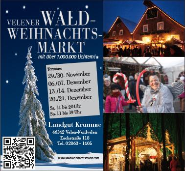 Waldweihnachtsmarkt 2014